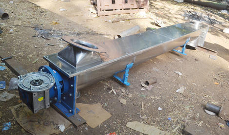 Screw Conveyors Inclined Screw Conveyor Screw Feeder